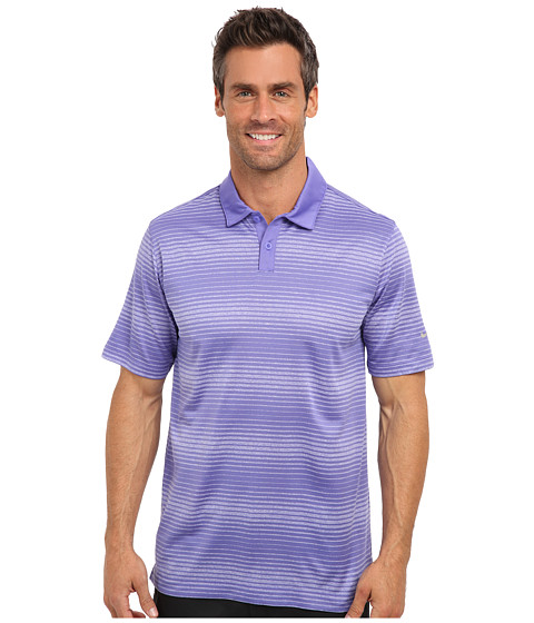 Nike Golf - Lightweight Innovation Stripe Polo (Purple Haze) Men
