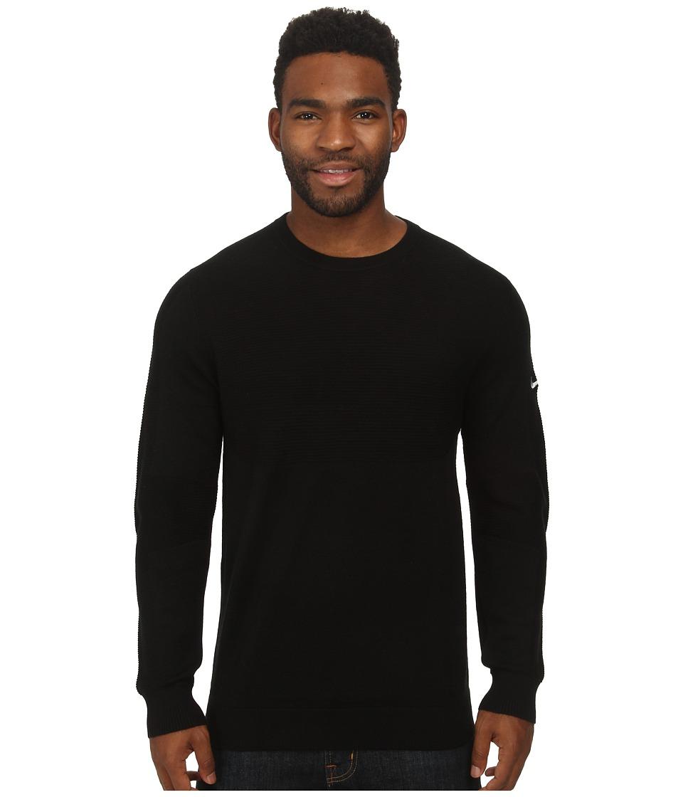 Nike Golf Tiger Woods Engineered Sweater (Black/Wolf Grey) Men
