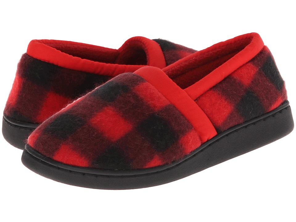 Foamtreads Kids - Alpha (Toddler/Little Kid/Big Kid) (Black/Red) Boys Shoes
