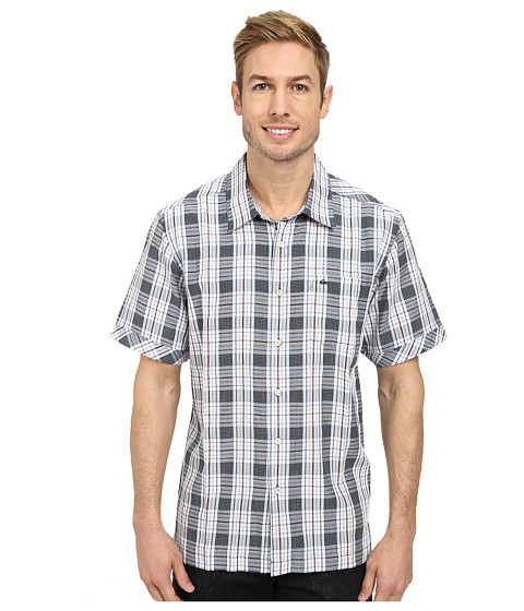 Quiksilver - Isla Boca Woven Top (Night) Men's Clothing