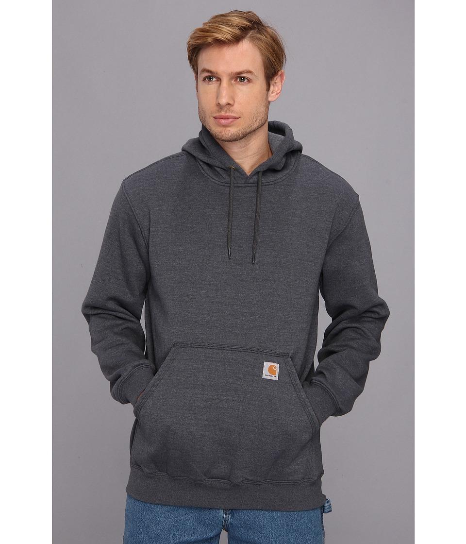 Carhartt - MW Hooded Sweatshirt (Charcoal Heather) Men's Sweatshirt