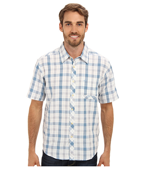 Quiksilver - Shelter Bay S/S Shirt (Wave) Men's Short Sleeve Button Up