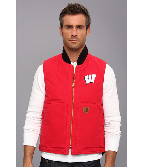 Carhartt - Wisconsin Sandstone Vest (Red) Men's Vest