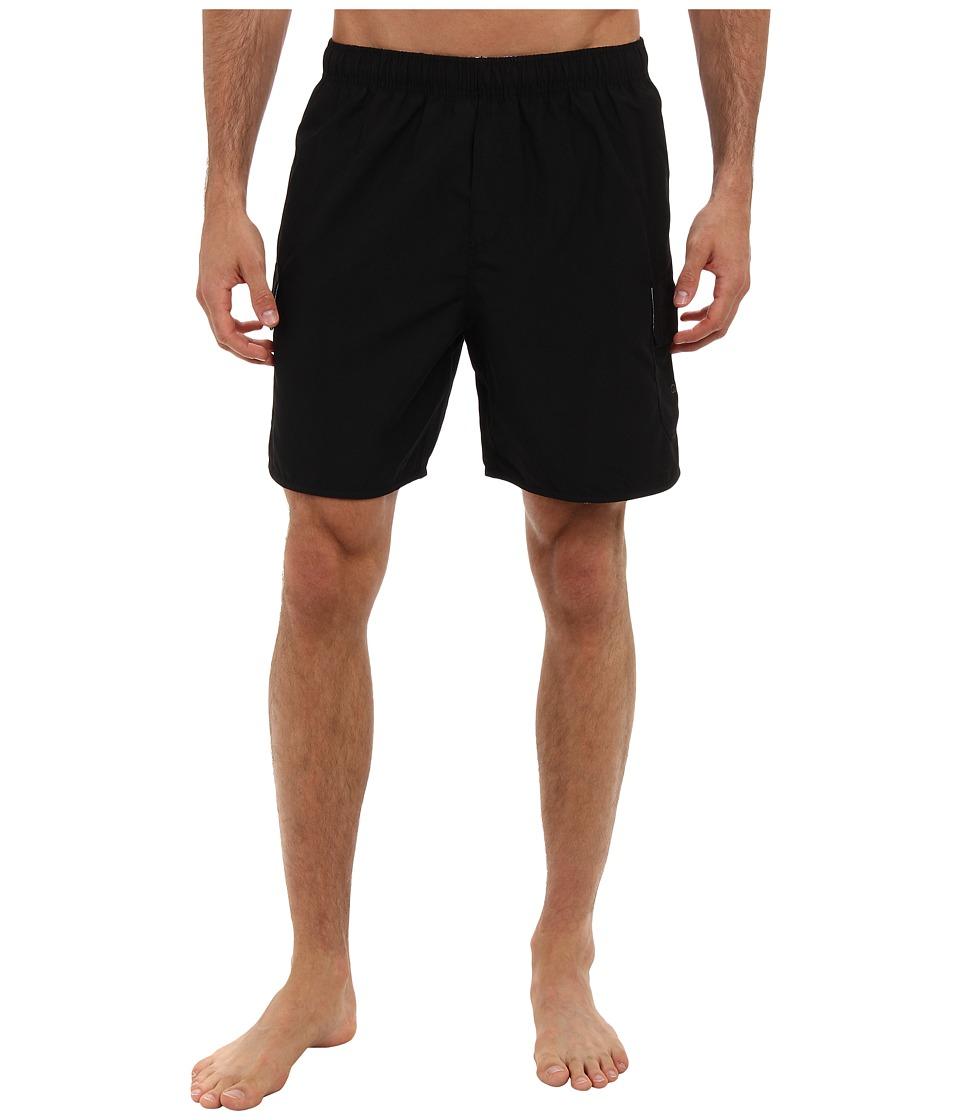 Quiksilver Waterman - Balance Hybrid Shorts (Black) Men's Swimwear