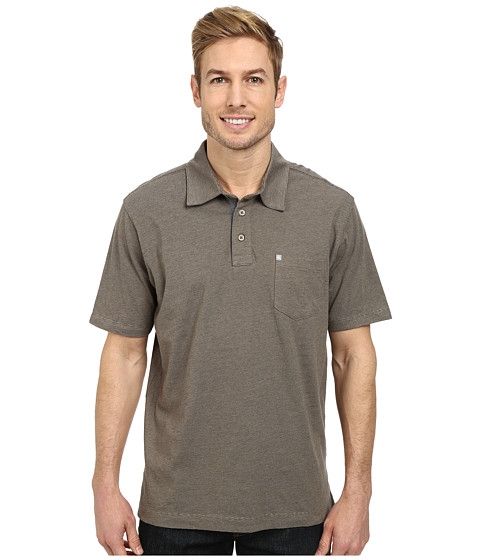 Quiksilver - Strolo 3 Knit Polo (Rope) Men's Clothing