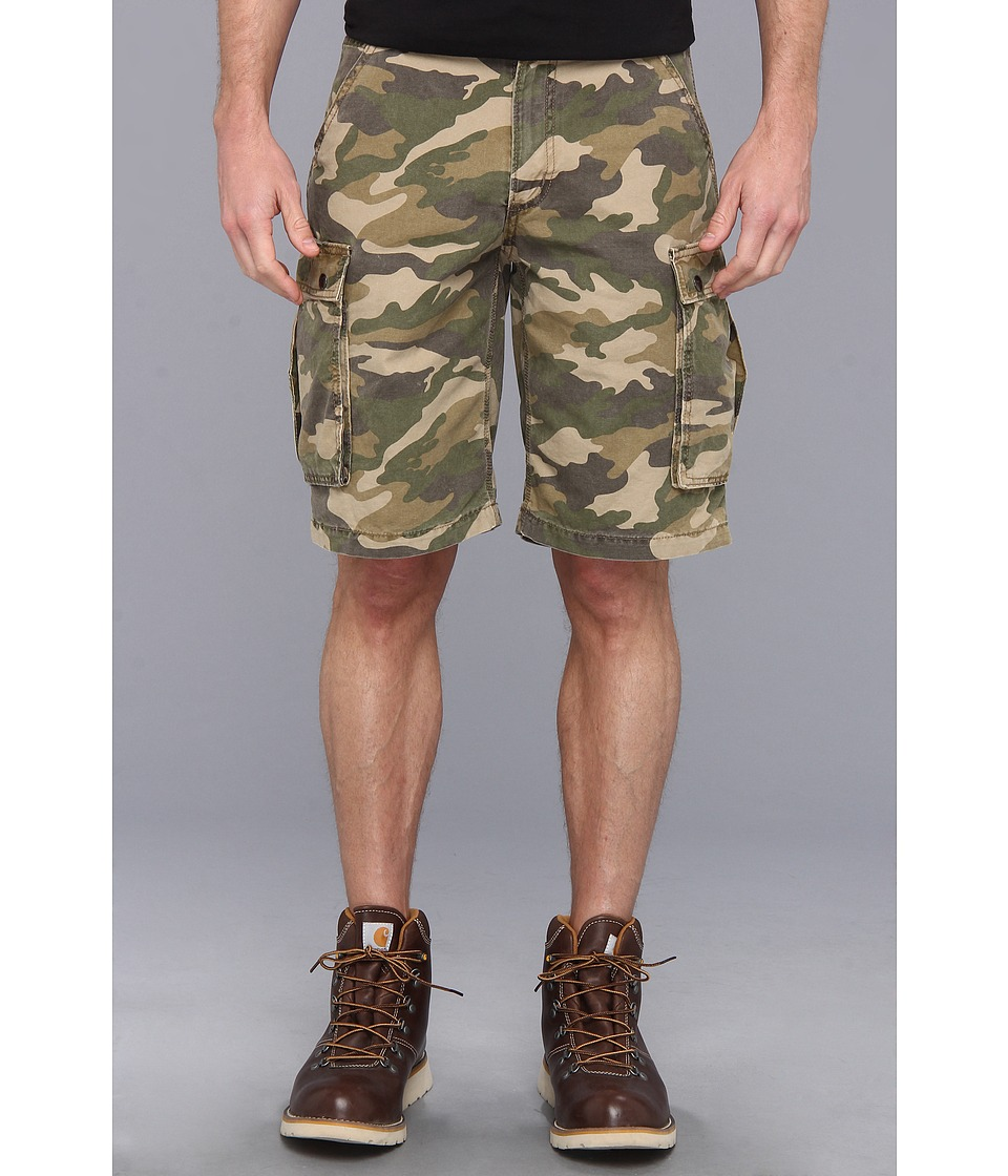 Carhartt - Rugged Cargo Camo Short (Rugged Khaki Camo) Men's Shorts