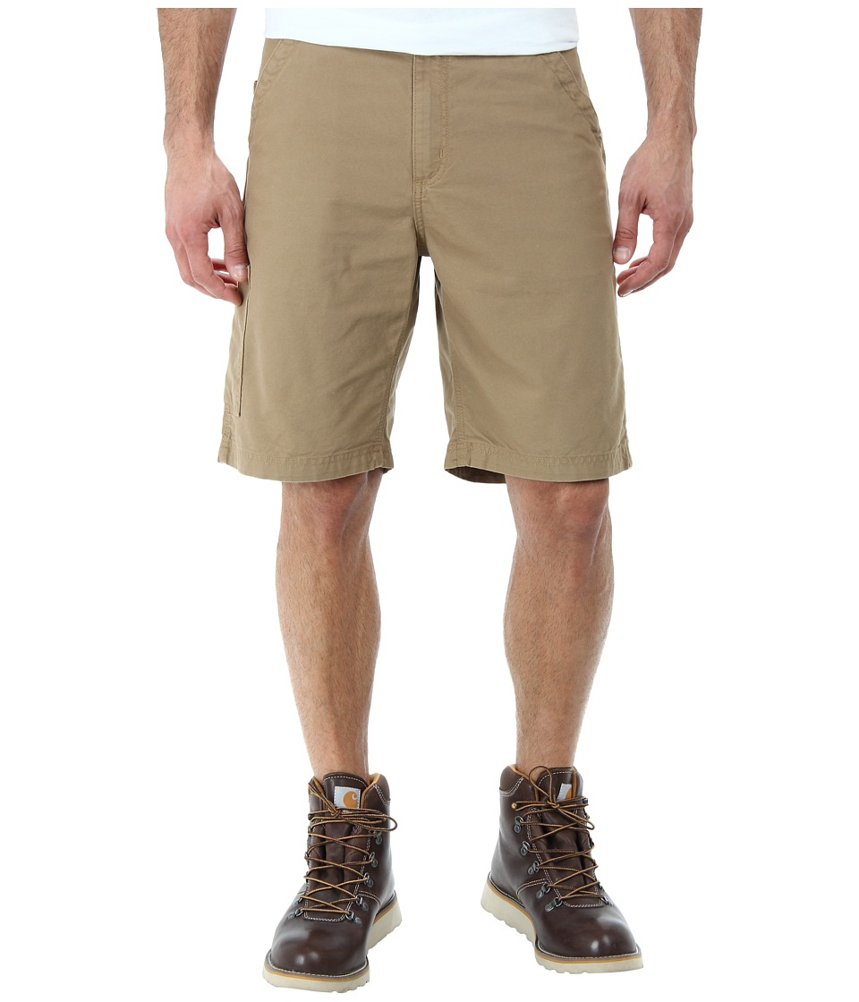 Carhartt - Canvas Work Short (Dark Khaki) Men's Shorts