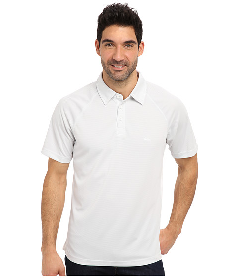 Quiksilver - Torrent 2 Knit Polo (White) Men's Clothing