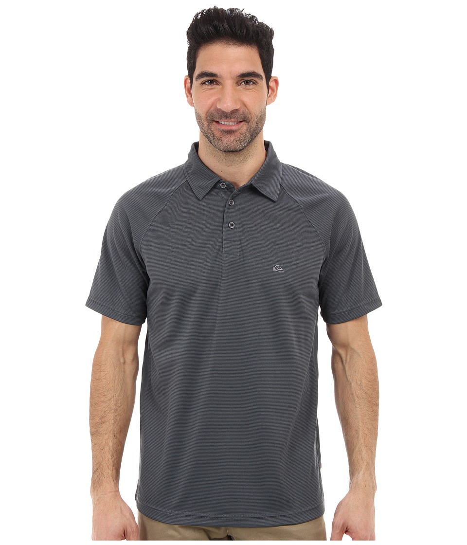 Quiksilver - Torrent 2 Knit Polo (Storm) Men's Clothing