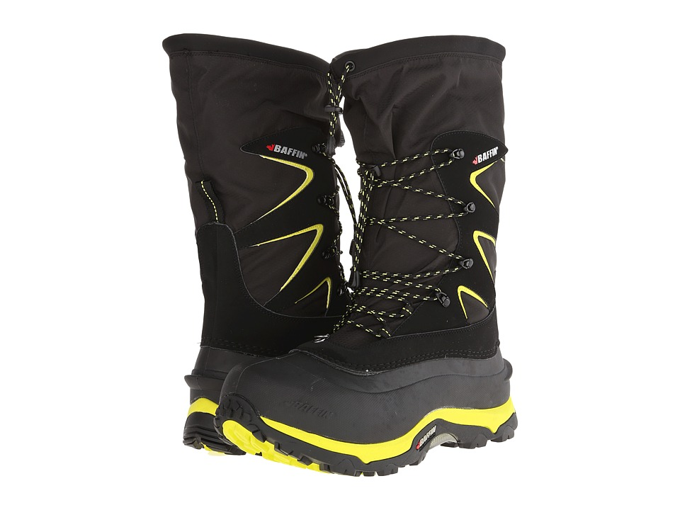 Baffin - Kootenay (Black/Floro Green) Men's Boots