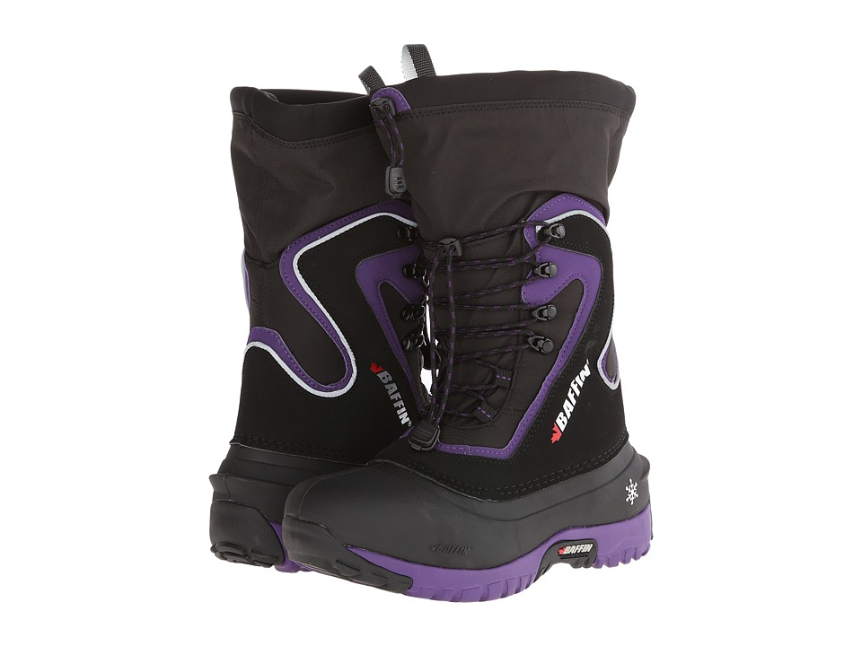 Baffin - Flare (Black/Plum) Women's Boots