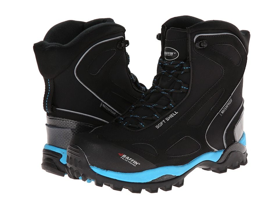 Baffin - Snotrek (Black/Electric Blue) Women's Boots