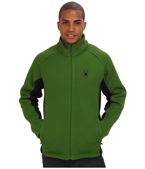 Spyder - Foremost Full Zip Heavy Weight Core Sweater Jacket (Mountain Top) Men's Sweater