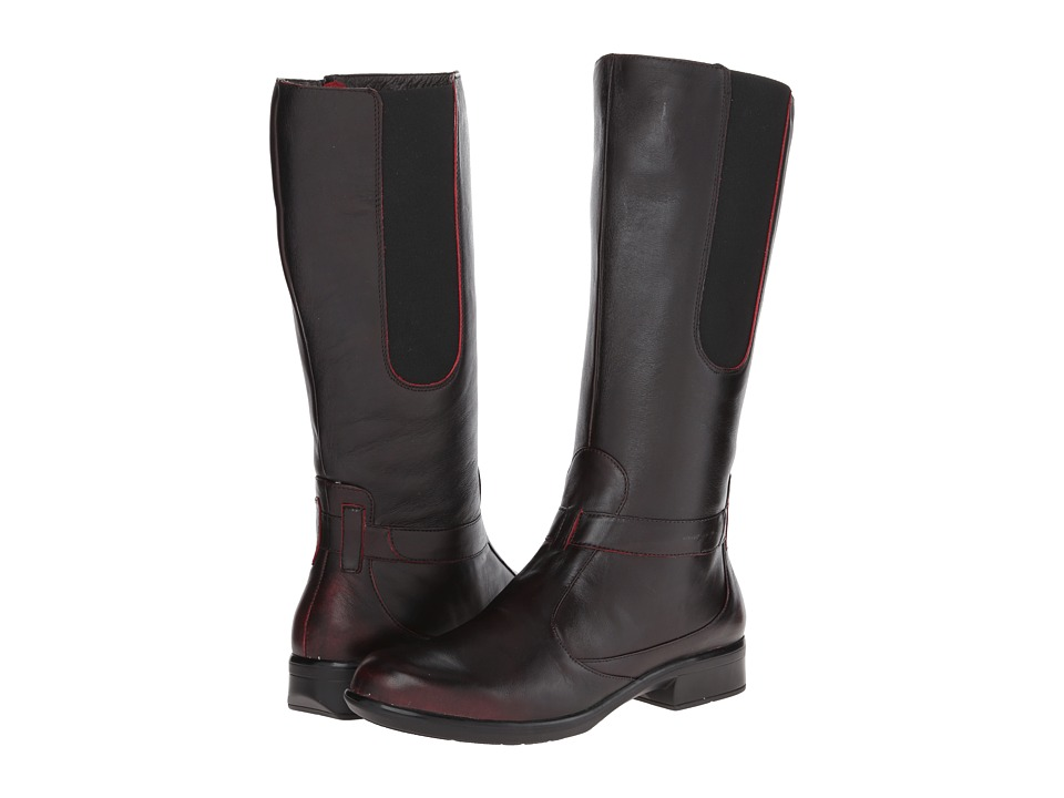 Naot Footwear - Viento (Volcanic Red Leather) Women's Boots