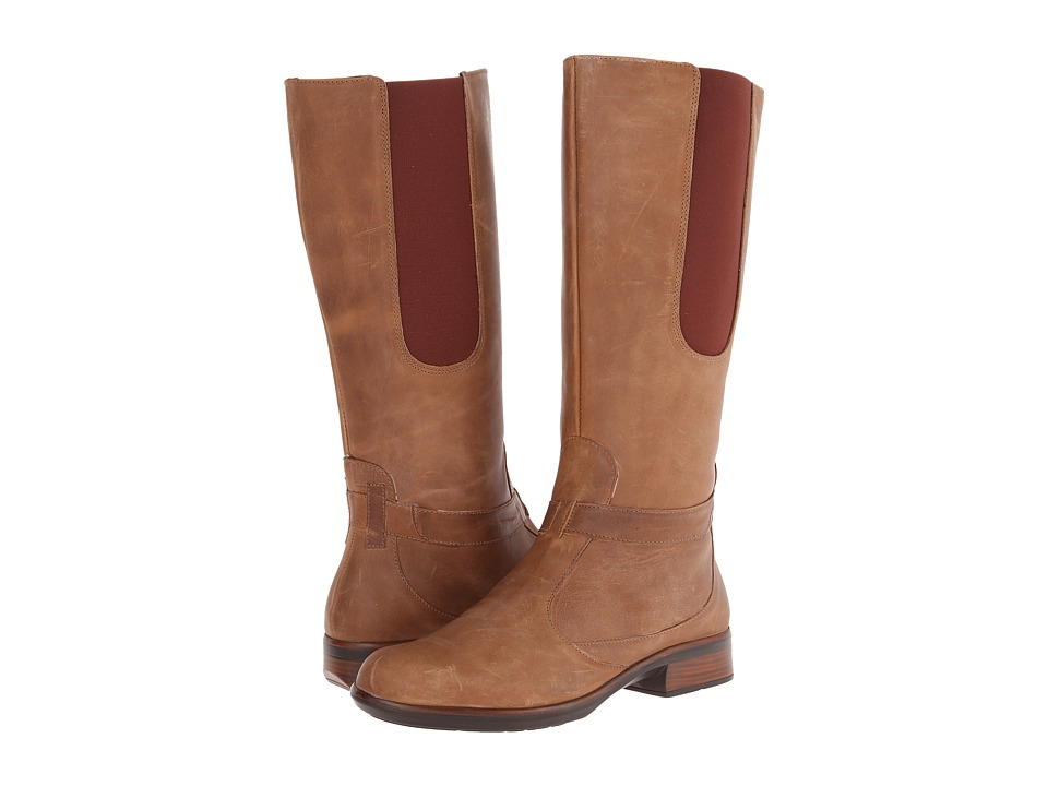 Naot Footwear Viento (Saddle Brown Leather) Women