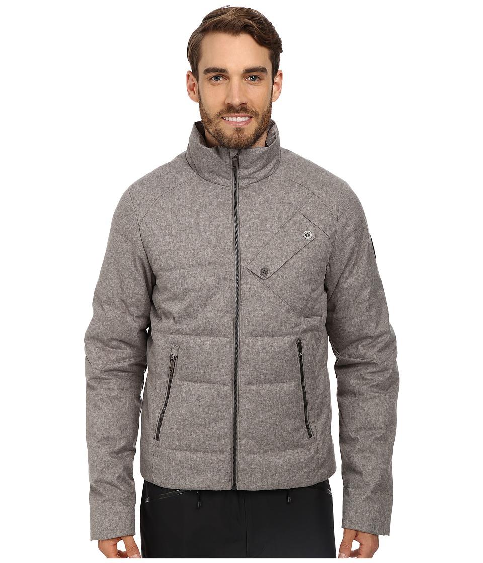 Spyder - Venturi GT Down Jacket (Graystone Tech Flannel) Men