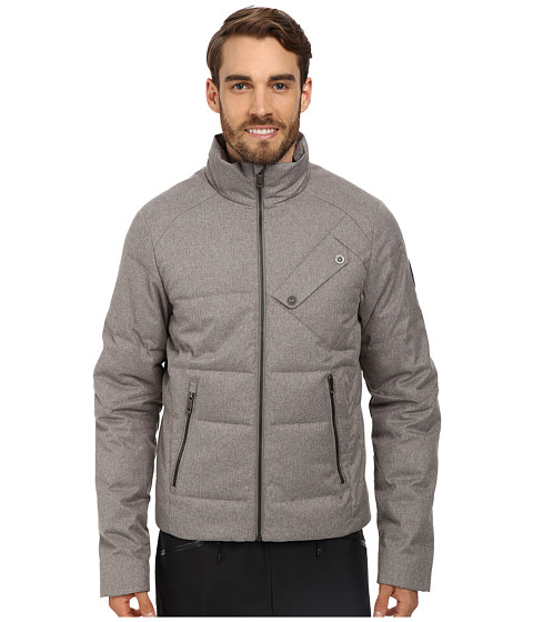 Spyder - Venturi GT Down Jacket (Graystone Tech Flannel) Men's Coat