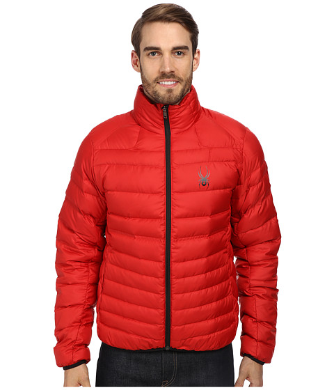 Spyder - Dolomite Jacket (Vampire/Black) Men's Coat