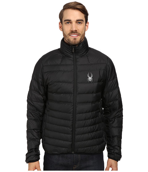 Spyder - Dolomite Jacket (Black/Graystone) Men's Coat