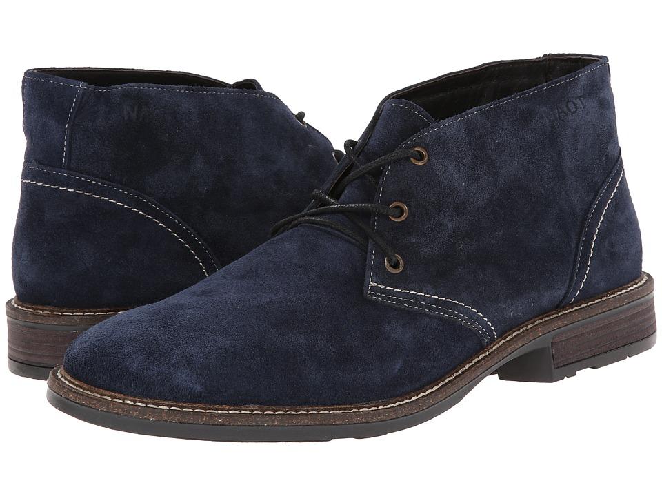 Naot Footwear - Pilot (Blue Velvet Suede) Men's Boots