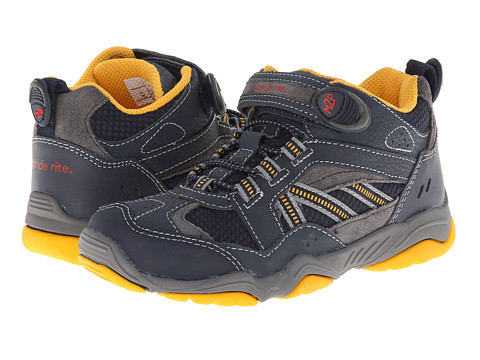 Stride Rite - M2P Fleet (Little Kid) (Navy/Grey) Boy's Shoes