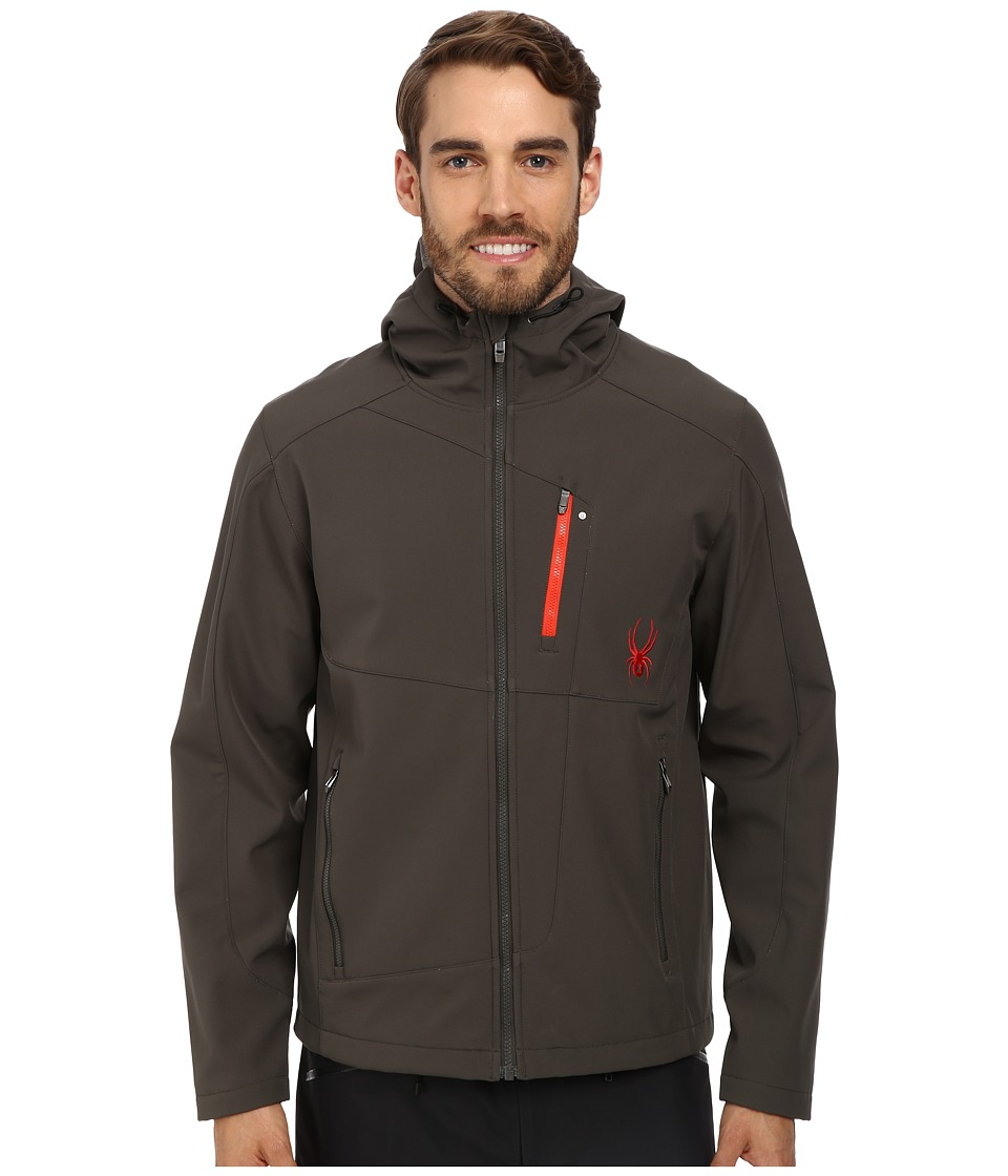 Spyder - Patsch GT Softshell Jacket (Osetra/Volcano) Men's Coat
