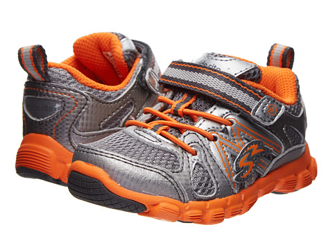 Stride Rite - Propel A/C (Toddler) (Grey/Orange) Boy's Shoes