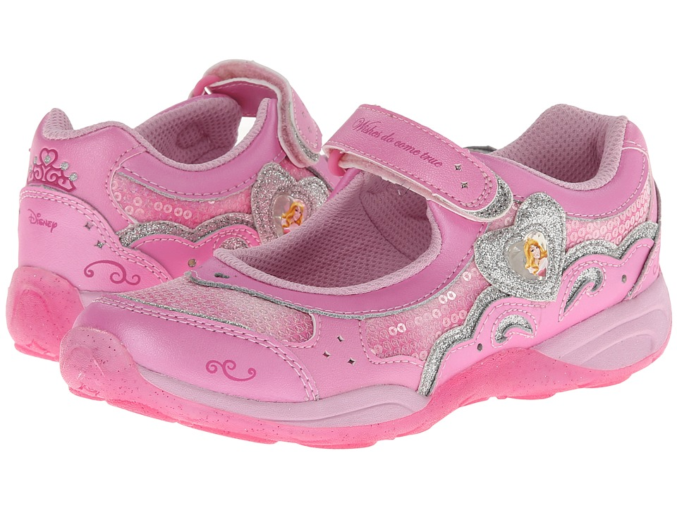Stride Rite - Disney WL Aurora MJ (Little Kid) (Pink) Girl's Shoes