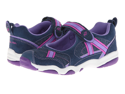 Stride Rite - M2P Robin (Little Kid) (Navy/Purple) Girl