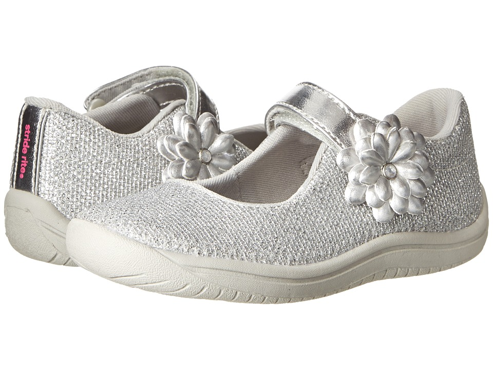 Stride Rite - Haylie (Toddler/Little Kid) (Silver) Girl's Shoes