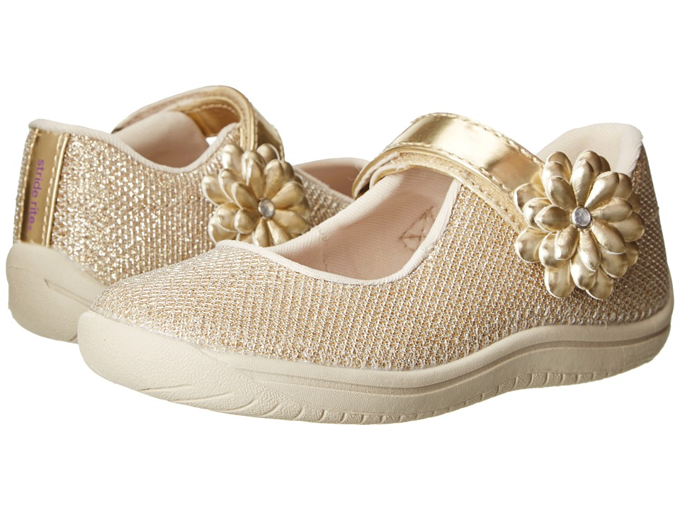 Stride Rite - Haylie (Toddler/Little Kid) (Gold) Girl's Shoes