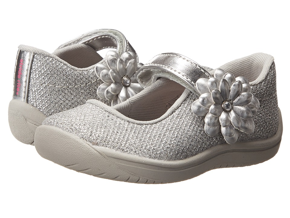 Stride Rite - Haylie (Toddler) (Silver) Girl's Shoes
