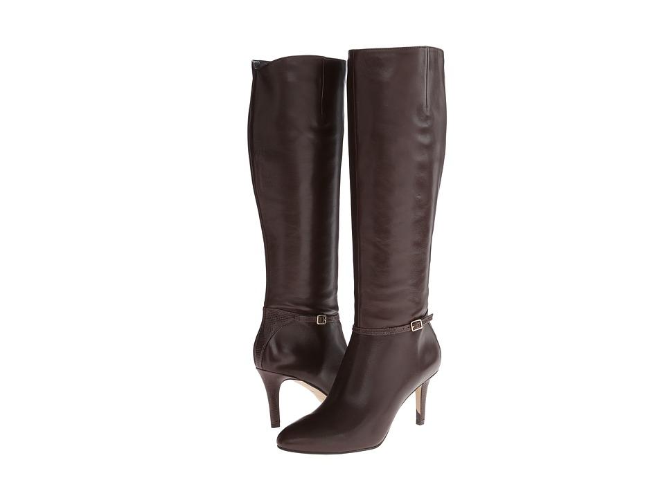 Cole Haan - Garner Tall Boot (Chestnut) Women's Zip Boots