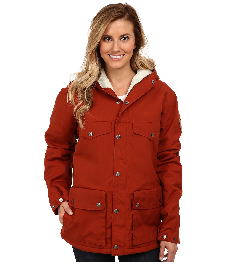 Fj llr ven - Greenland Winter Jacket (Autumn Leaf) Women's Coat