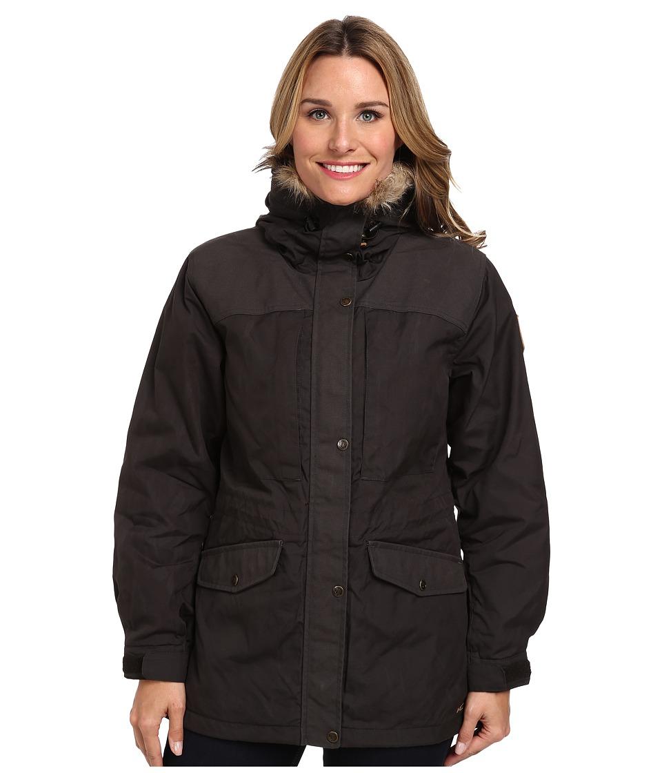 Fjallraven Sarek Winter Jacket (Dark Grey) Women