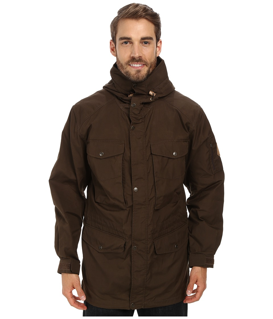 Fjallraven - Sarek Trekking Jacket (Dark Olive) Men's Coat