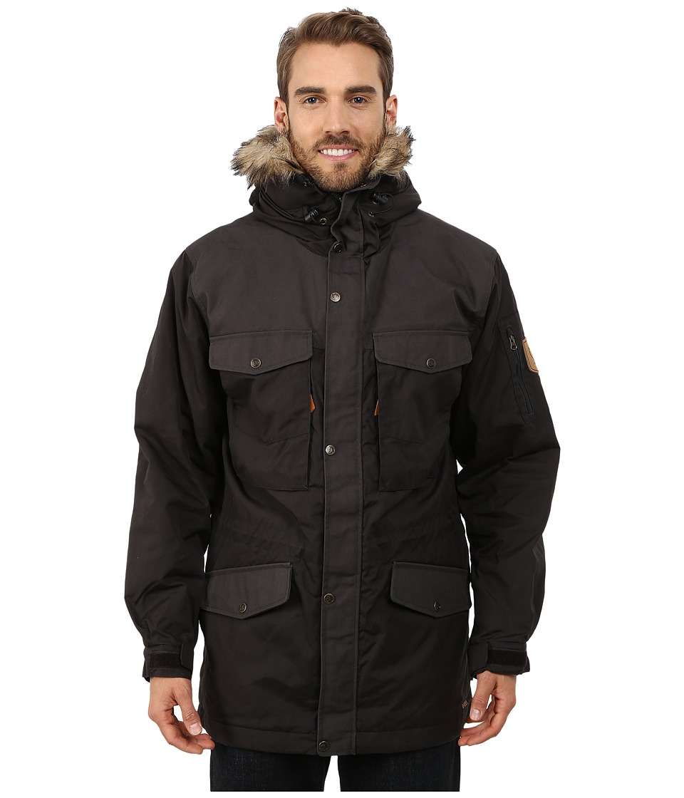 Fjallraven - Sarek Winter Jacket (Dark Grey/Dark Grey) Men's Jacket