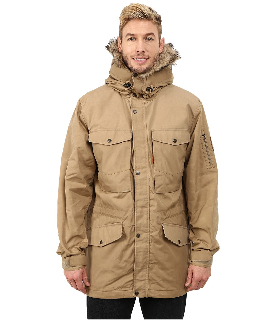 Fj llr ven - Sarek Winter Jacket (Sand/Sand) Men