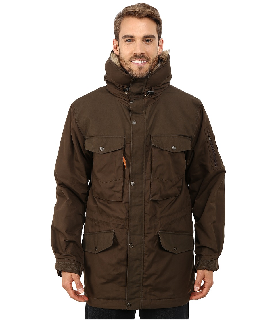 Fjallraven - Sarek Winter Jacket (Dark Olive/Dark Olive) Men's Jacket