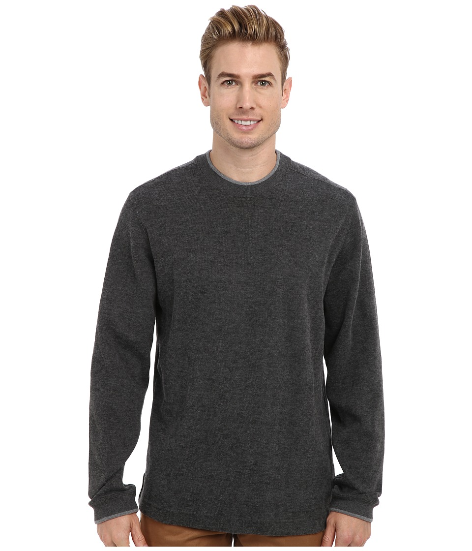 Quiksilver Waterman - Rock Lagoon 3 Sweatshirt (Gunmetal) Men's Clothing