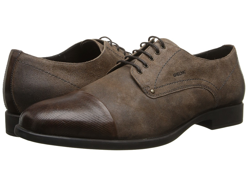 Geox - U Journey 15 (Chestnut) Men's Lace Up Cap Toe Shoes