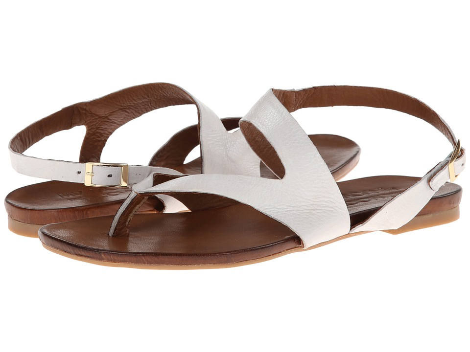 Miz Mooz - Rio (White) Women's Sandals