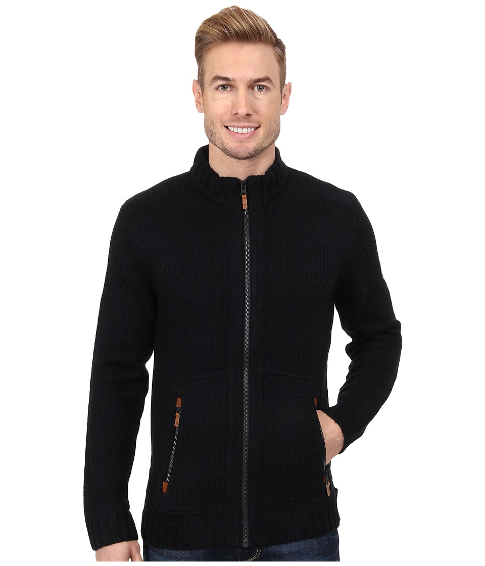 Obermeyer - Telluride Cardigan (Black) Men's Sweater