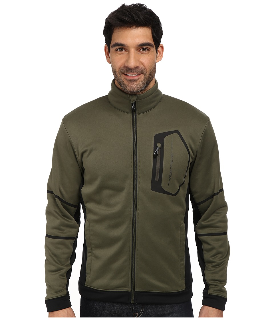 Obermeyer - Ronnie Fleece Jacket (Stone Green) Men's Coat