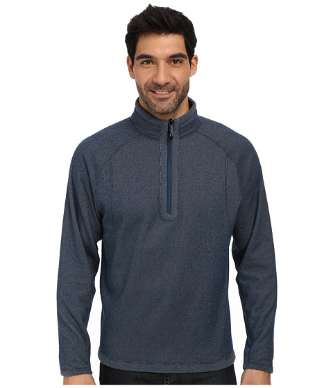 Obermeyer - Revert Fleece Top (Blue Slate) Men