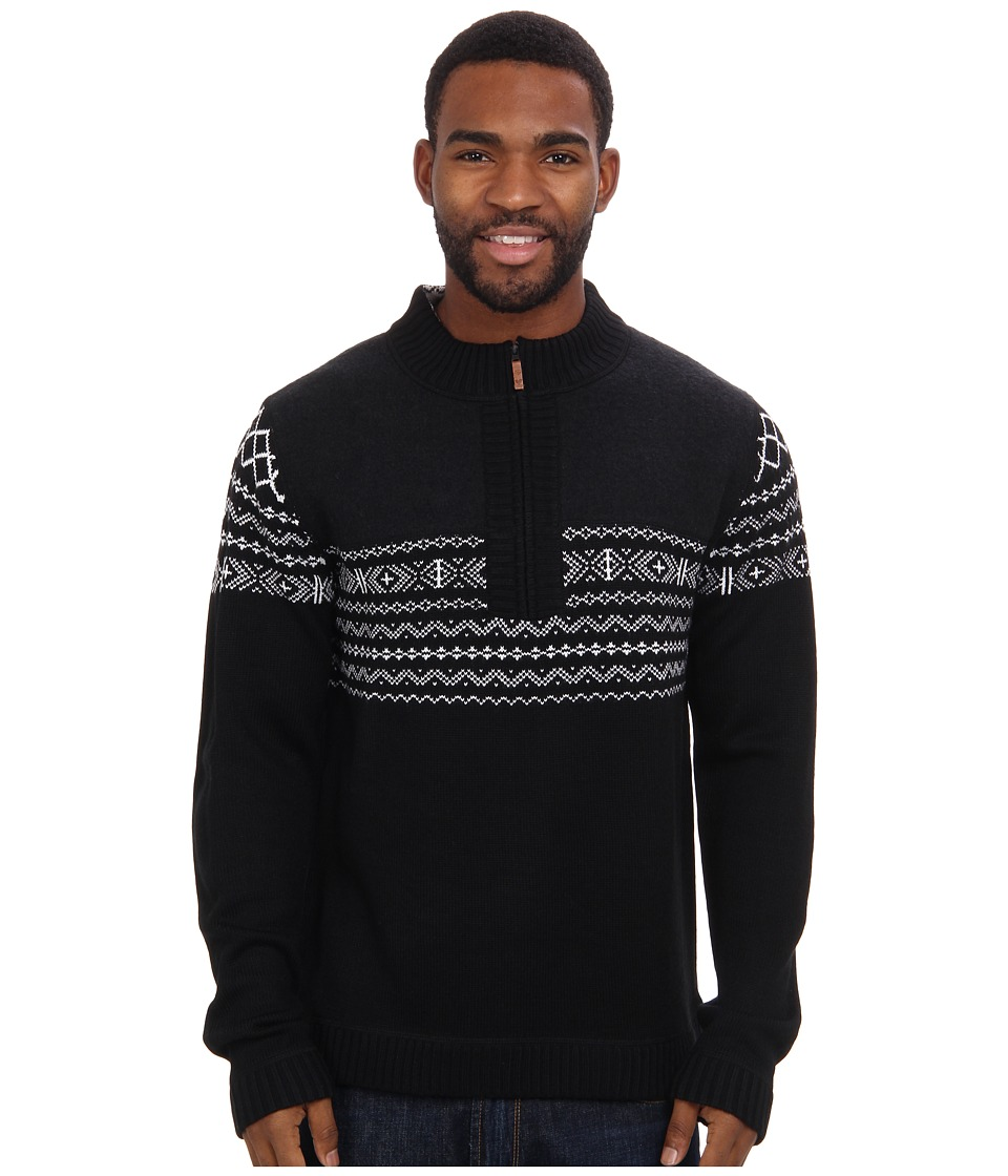 Obermeyer - Otis 1/2 Zip (Black) Men's Sweater