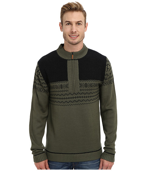 Obermeyer - Otis 1/2 Zip (Stone Green) Men's Sweater