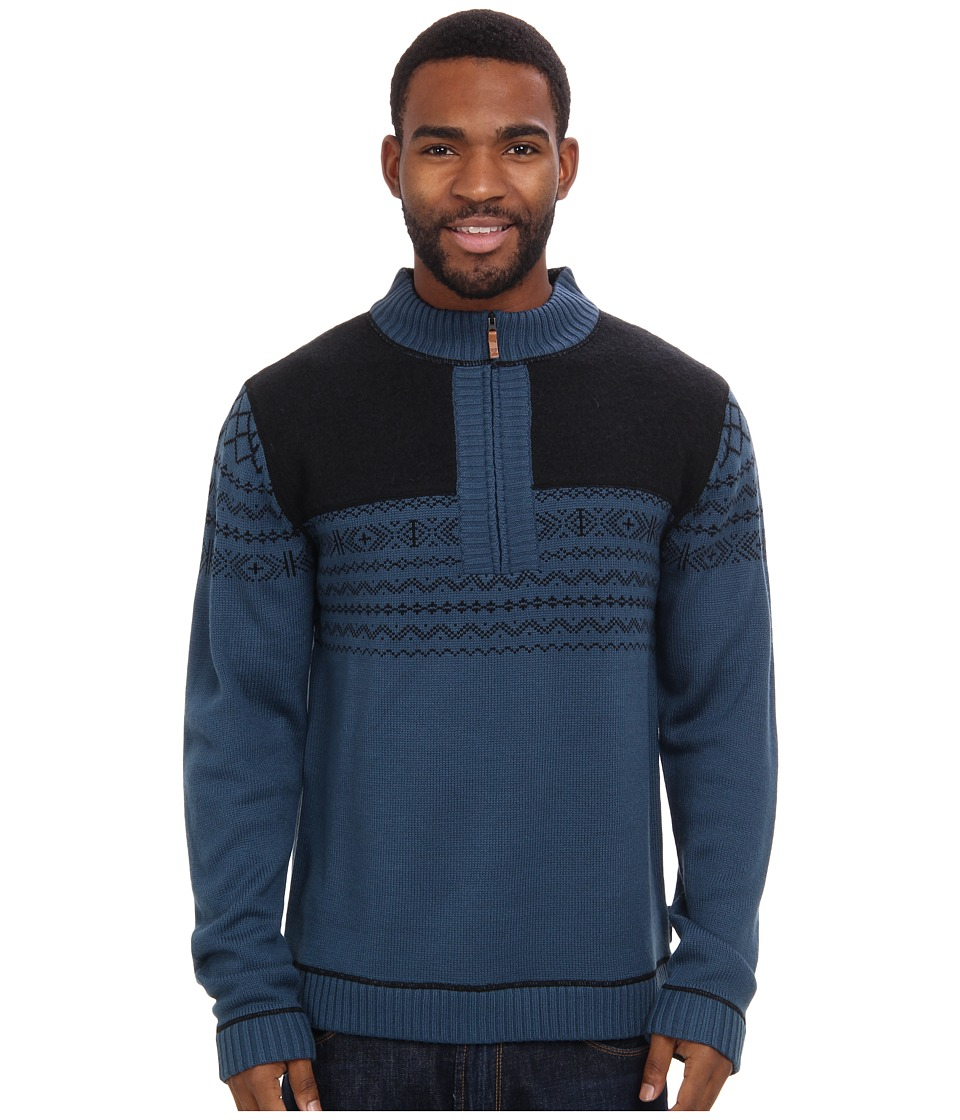 Obermeyer - Otis 1/2 Zip (Blue Slate) Men's Sweater