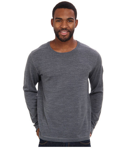 Obermeyer - Chad Crew (Silver) Men's Sweater