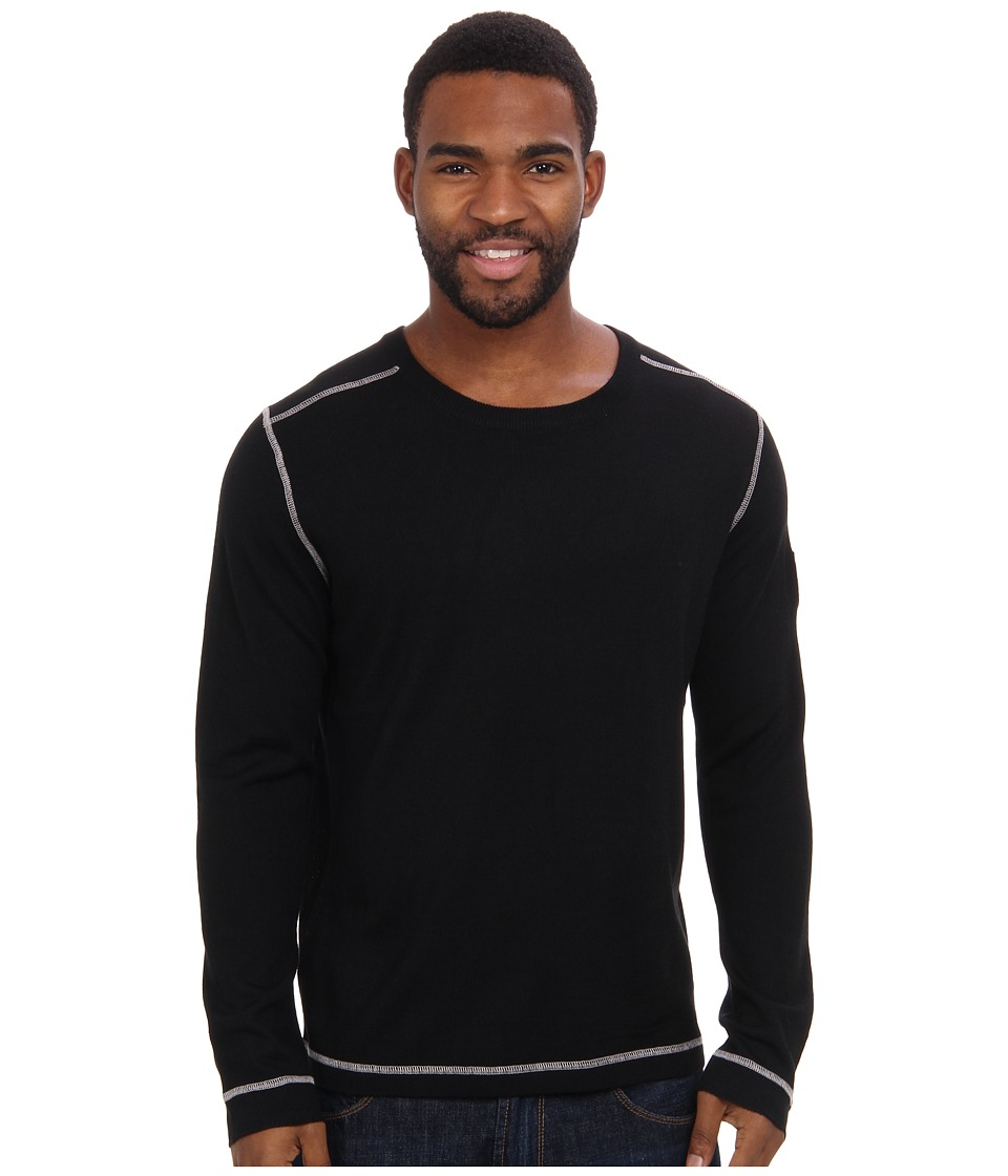 Obermeyer - Chad Crew (Black) Men's Sweater